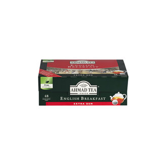 Ahmad Tea English Breakfast Demlik Poşet Çay 48'li 153.6 G
