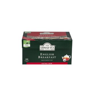 Ahmad Tea English Breakfast Demlik Poşet Çay 100'lü 320 G