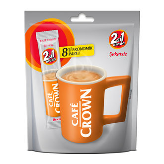 Cafe Crown 2'Si 1 Arada 8'Li Paket