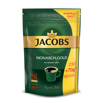 Jacobs Monarch Gold Eko Paket 230G + 70G Hediye