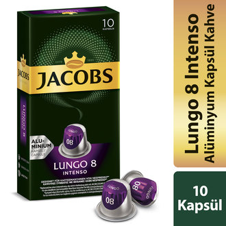 Jacobs Capsule Lungo 8 Intenso 52 G