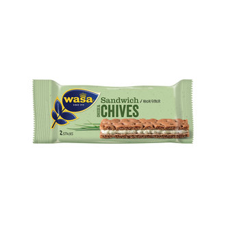Wasa Sandwich Cheese&Chives 32 G