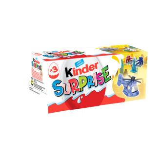 Kinder Surprise 3'lü 60 G