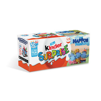 Kinder Surprise Yumurta 3'Lü 60 G