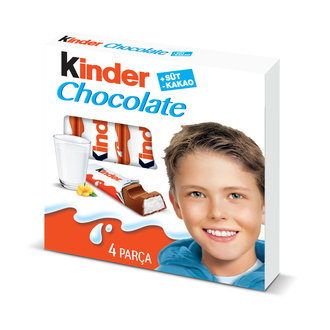 Kinder Chocolate 4'Lü 50 G
