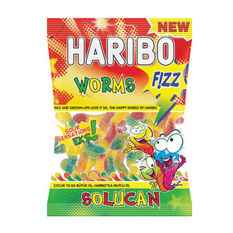 Haribo Fizz Worms 80 G