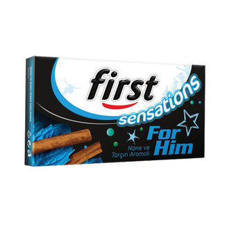 First For Him Nane Ve Tarçın Aromalı Sakız 27 G
