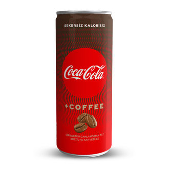 Coca-Cola Coffee 250 Ml Kutu