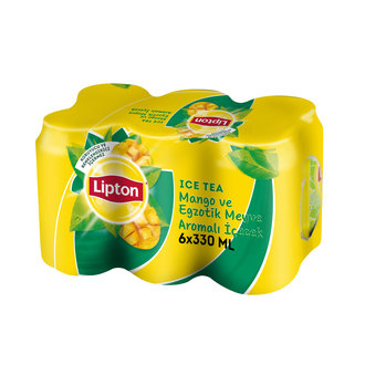 Lipton Ice Tea Mango Kutu 6X330 Ml