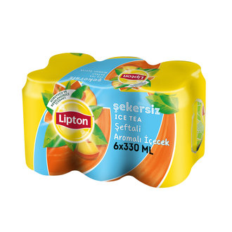 Lipton Ice Tea Şeftali Light 6X330 Ml