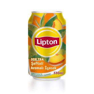 Lipton Ice Tea Şeftali Kutu 330 Ml