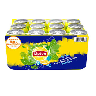 Lipton Ice Tea Limon Kutu 12X330 Ml