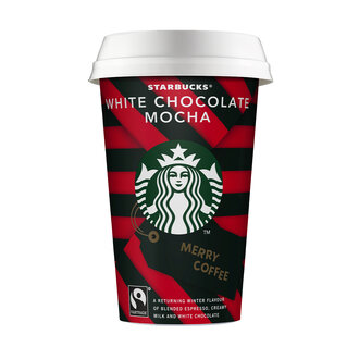 Starbucks White Chocolate Mocha 220 Ml