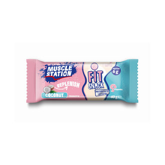 Muscle Station Hindistan Cevizli Vitaminli Bar 40 G