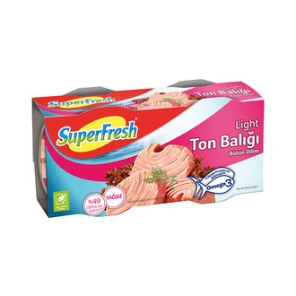 Superfresh Ton Balığı Light 2X160 G