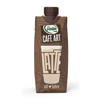Pınar Cafe Art Latte 500 Ml