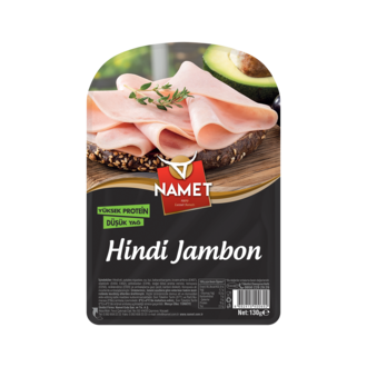 Namet Hindi Etli Jambon 130 G