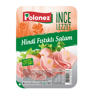 Polonez Fıstıklı Hindi Salam 110 G