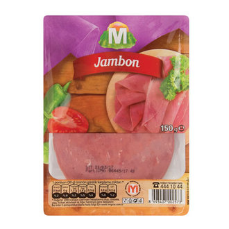 Migros Dilimli Tost Jambon 150 G