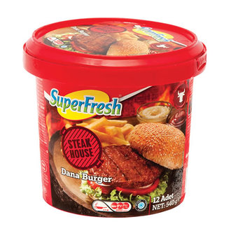 Superfresh Dana Burger 540 G (12 Adet)