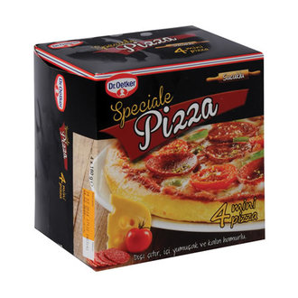 Dr. Oetker Pizza Speciale 4'Lü Mini Pizza 720 G
