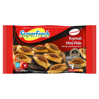 Superfresh Kıymalı Patatesli Mini Pide 400 G