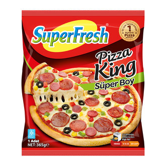 Superfresh Pizza King Süper Boy 365 G