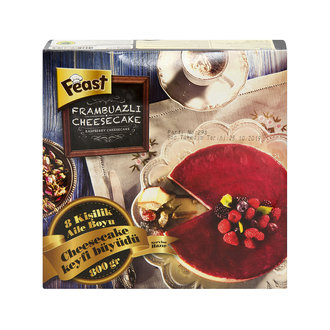 Feast Frambuazlı Cheesecake 800G