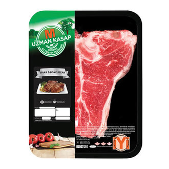*Uzman Kasap Dana T-bone Steak Kg