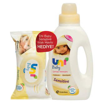 Uni Baby Sensitive Det.1500Ml+ Islak Havlu Hediye
