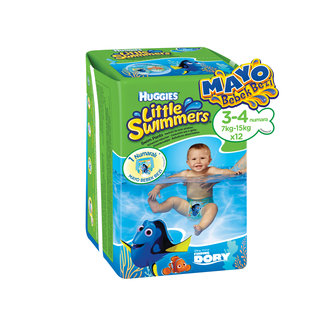 Huggies Little Swimmers Mayo Bebek Bezi 7-15 Kg 12 Ped