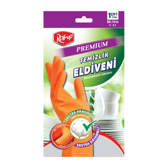 Roll-up Premium Temizlik Eldiveni Medium