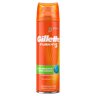 Gillette Fusion 5 Ultra Sensitive Gel 200Ml