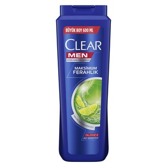 Clear Men Maksimum Ferahlık Şampuan 600 Ml