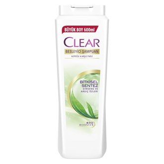 Clear Women Bitkisel Sentez Şampuan 600 Ml
