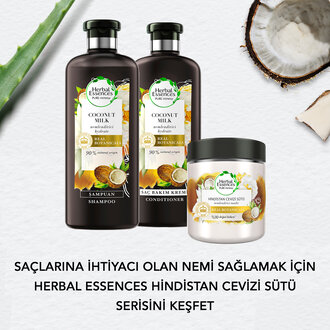 Herbal Essences Şampuan Hindistan Cevizi Sütü 400 Ml
