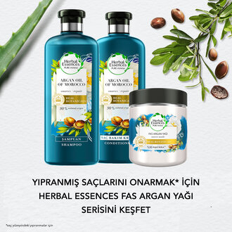 Herbal Essences Şampuan Fas Argan Yağı 400 Ml