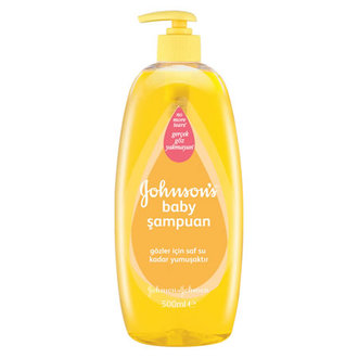 Johnson's Baby Pompalı Sampuan 500 Ml