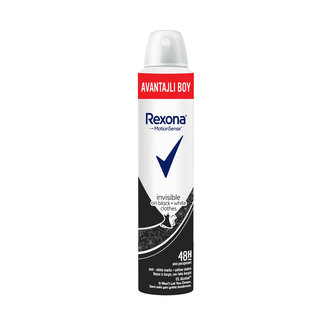 Rexona Invisible Black & White Deo Sprey 200Ml