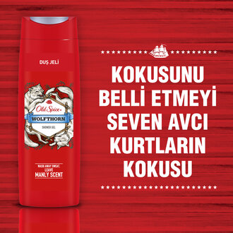 Old Spice Wolfthorn Duş Jeli 400 Ml
