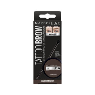 Maybelline Tattoo Brow Kaş Pomadı - 03 Medium Brown 66 G