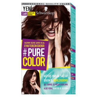 Pure Color 3-68 Böğürtlenlı Brownie