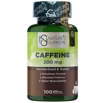 Nature's Supreme Caffein 100 Tablet