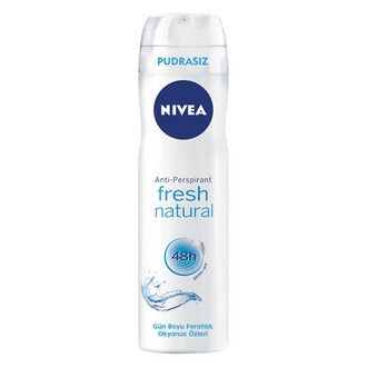 Nivea Fresh Natural Deodorant Sprey Kadın 150 Ml