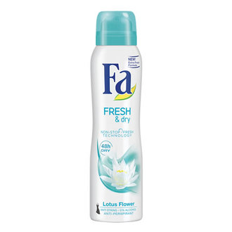 Fa Deodorant Spray 150Ml Sprey Fresh & Dry