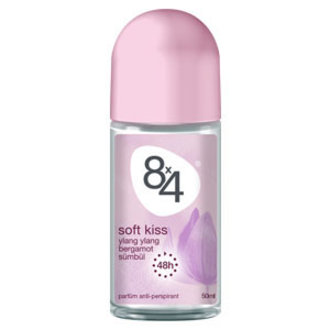 8X4 Soft Kiss Roll-On Deodorant 50 Ml Kadın