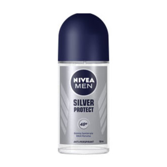 Nivea Silver Protect Roll-On Deodorant 50 Ml Erkek