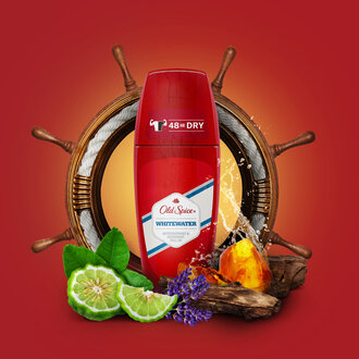 Old Spice Whitewater Roll On 50 Ml