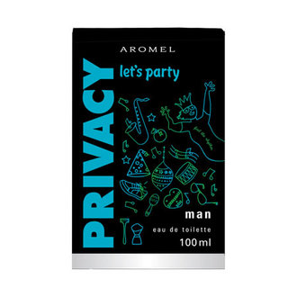 Privacy Man Let'S Party Edt 100 Ml