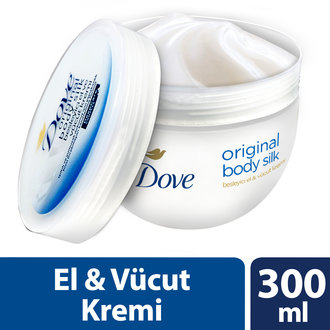 Dove El Ve Vücut Kremi Original Body Silk 300 Ml